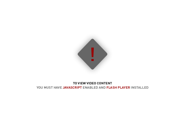 Javascript and Flash must be enabled and installed.
